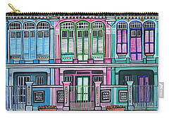 Peranakan Mansion Singapore Carry-all Pouch