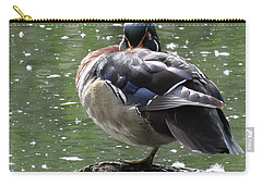 Perchance To Dream Of Fair Wood Duck Maidens Carry-all Pouch by I'ina Van Lawick