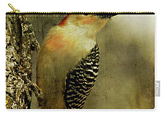 Perched And Ready - Weathered Carry-all Pouch