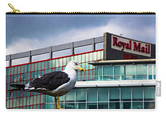 Perched Gull Carry-all Pouch