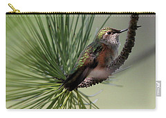 Perched In A Pine Carry-all Pouch