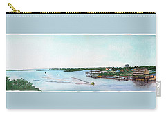 Carry-all Pouch featuring the painting Perdido Key Bay by Betsy Hackett