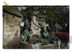 Pere Lachaise Tomb Carry-all Pouch