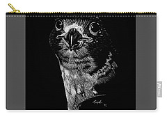 Peregrin Falcon Carry-all Pouch by Lawrence Tripoli