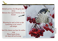Peregrine Song Carry-all Pouch