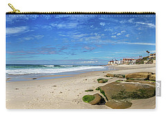 Carry-all Pouch featuring the photograph Perfect Day At Horseshoe Beach by Peter Tellone