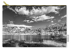 Carry-all Pouch featuring the photograph Perfect Lake At Mount Baker by Jon Glaser