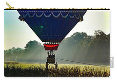 Carry-all Pouch featuring the photograph Perfect Landing by Kendall McKernon