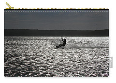 Carry-all Pouch featuring the photograph Perfect Light At Lake Wollumboola by Miroslava Jurcik