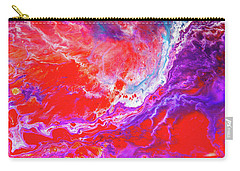 Perfect Love Storm - Colorful Abstract Painting Carry-all Pouch