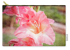 Perfect Pink Canna Lily Carry-all Pouch by Toni Hopper