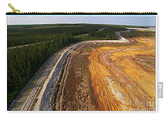 Perfect Poster Of An Ugly Polluted Landscape Of North America Read Canada Carry-all Pouch