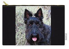 Scottish Terrier Portrait Carry-all Pouch
