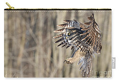 Perfect Shadow  Carry-all Pouch by Heather King