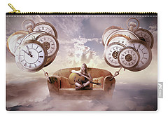 Carry-all Pouch featuring the digital art Perfect Timing  by Nathan Wright