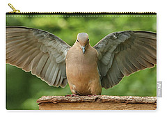 Perfect Touchdown Carry-all Pouch by Jim Moore