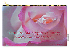 Carry-all Pouch featuring the photograph Perfected In Woman by Agnieszka Ledwon