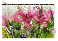 Carry-all Pouch featuring the photograph Perfectly Made by Elaine Malott