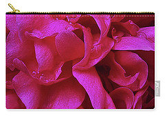 Perfectly Pink Peony Petals Carry-all Pouch