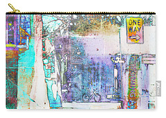 Carry-all Pouch featuring the photograph Performance Arts by Susan Stone