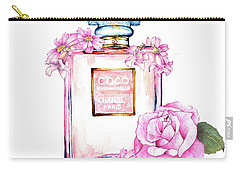 Perfume Florals Carry-all Pouch