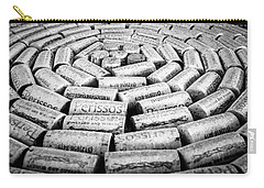 Carry-all Pouch featuring the photograph Perissos Vineyard Wine Corks by Andy Crawford