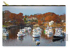 Carry-all Pouch featuring the photograph Perkins Cove by Darren White