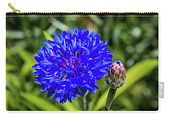 Perky Cornflower Carry-all Pouch