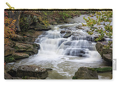 Carry-all Pouch featuring the photograph Perpetual Flow by Dale Kincaid