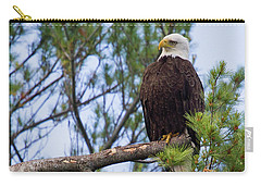 Perplexed Eagle Carry-all Pouch