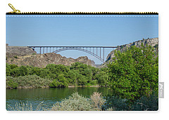 Perrine Bridge At Twin Falls Carry-all Pouch