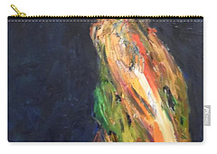 Carry-all Pouch featuring the painting Persephone Queen Of The Underworld by Esther Newman-Cohen
