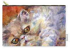 Persian Cat Painting Carry-all Pouch