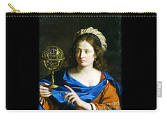 Personification Of Astrology Carry-all Pouch by Pg Reproductions