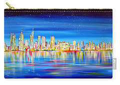 Perth Skyline On The Swan Carry-all Pouch
