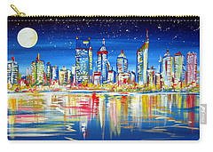 Perth Under The Full Moon Carry-all Pouch