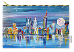 Perth Western Australia Under The Full Moon Carry-all Pouch