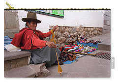 Peruvian Weaver Carry-all Pouch by Aidan Moran