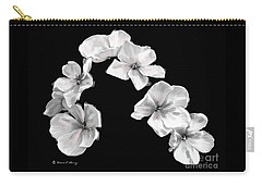 Petal Cascade Custom Carry-all Pouch by Diane E Berry