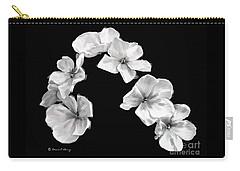 Petal Cascade Custom Carry-all Pouch