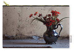 Petals And Peeling Paint - Preston Castle Carry-all Pouch