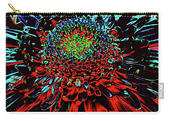 Petals Of Fire And Ice Carry-all Pouch