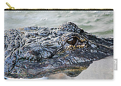 Pete The Alligator Carry-all Pouch by Kenneth Albin