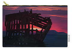 Peter Iredale Shipwreck Carry-all Pouch