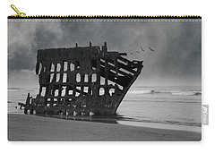 Peter Iredale Shipwreck At Oregon Coast Carry-all Pouch