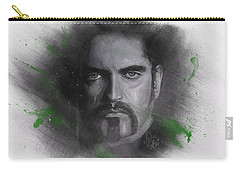 Carry-all Pouch featuring the drawing Peter Steele, Type O Negative by Julia Art