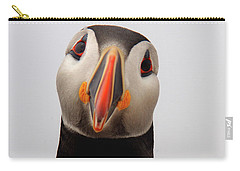 Peter The Puffin Carry-all Pouch by Jane Axman