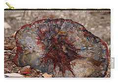 Carry-all Pouch featuring the photograph Peterified Jewel by Melissa Peterson