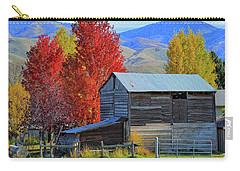 Peterson Barn In Autumn Carry-all Pouch