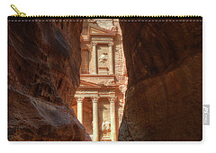 Petra Treasury Revealed Carry-all Pouch by Nigel Fletcher-Jones
